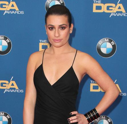 Lea Michele in Balmain | 2015 DGA Awards