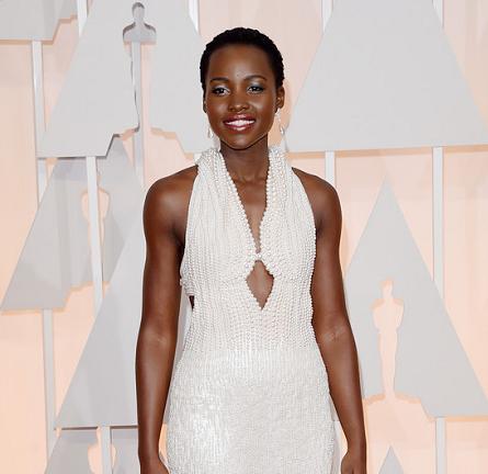 Lupita Nyong'o in Calvin Klein | 2015 Oscars