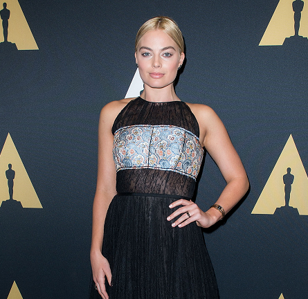 Margot Robbie in Prada | AMPAS' Scientific & Technical Awards 2015