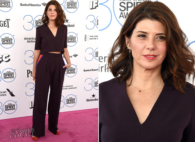 Marisa Tomei in Roksanda | 2015 Film Independent Spirit Awards