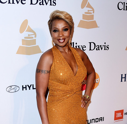 Mary J. Blige in Michael Kors | 2015 Pre-GRAMMY Gala