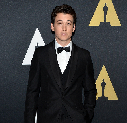 Miles Teller in Prada | AMPAS' Scientific & Technical Awards 2015
