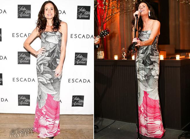 Minnie Driver in ESCADA Meets Thilo Westermann | ESCADA + Saks Fifth Avenue Celebration