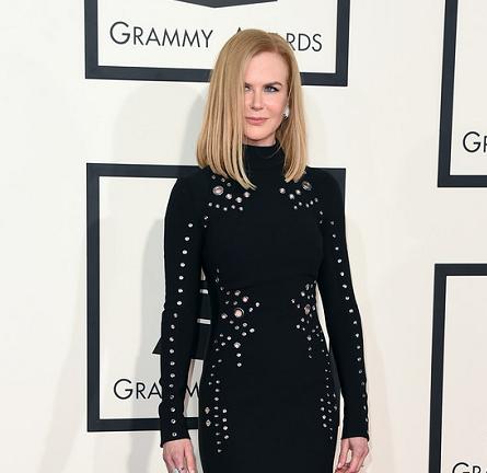 Nicole Kidman in Mugler | 2015 GRAMMYs