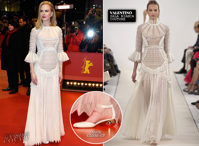 Nicole Kidman in Valentino Couture | 'Queen of the Desert' Premiere - 2015 Berlinale International Film Festival