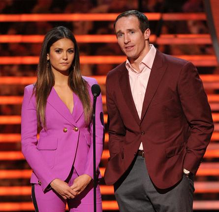 Nina Dobrev in Emilio Pucci | 2015 NFL Honors