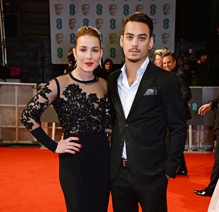 Noomi Rapace in Elie Saab | 2015 BAFTAs