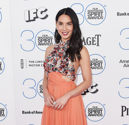Olivia Munn in Prabal Gurung | 2015 Film Independent Spirit Awards