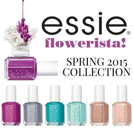 Review: Essie 'Flowerista' Spring 2015 Collection