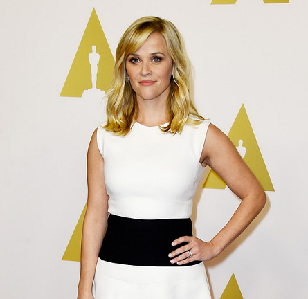 Reese Witherspoon in Giambattista Valli | Oscar Nominees Luncheon 2015