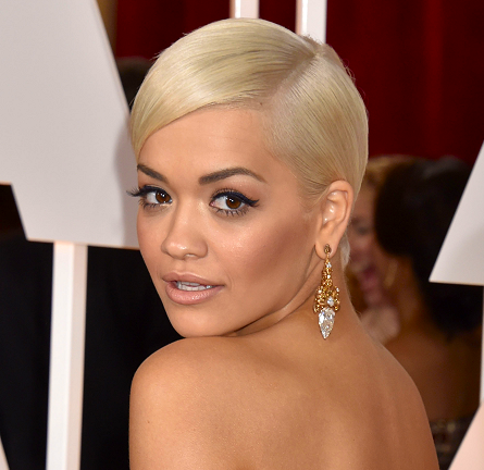 Rita Ora in Marchesa | 2015 Oscars