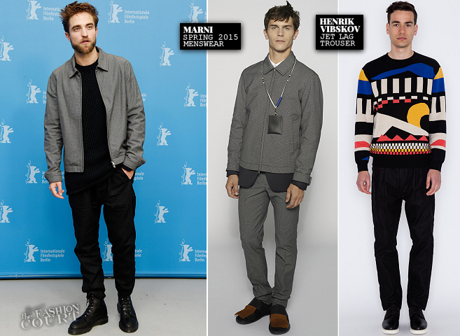 Robert Pattinson in Marni, Comme des Garçons & Henrik Vibskov | 'Life' Photocall - 2015 Berlinale International Film Festival