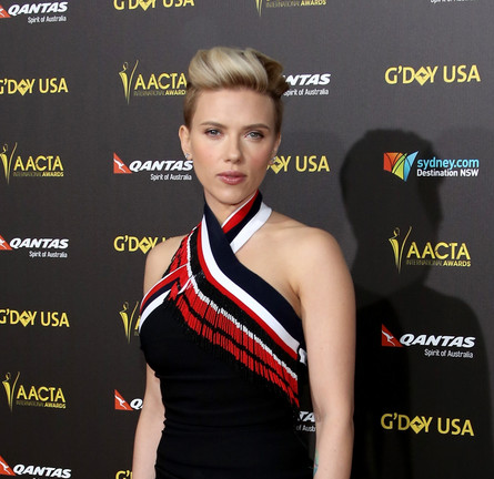 Scarlett Johansson in PREEN | 2015 G'DAY USA & AACTA Awards Gala