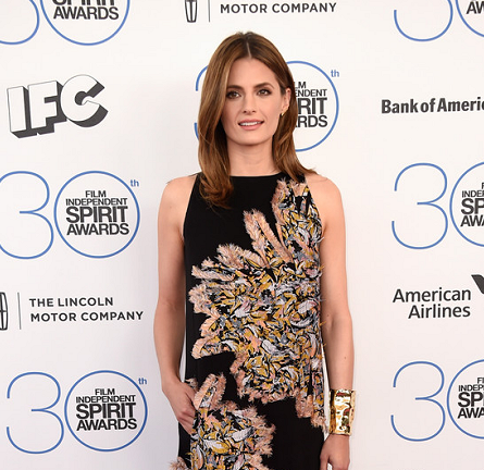 Stana Katic in Chloé | 2015 Film Independent Spirit Awards