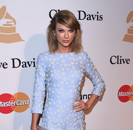 Taylor Swift in OSMAN | 2015 Pre-GRAMMY Gala
