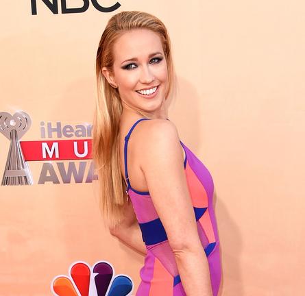 Anna Camp in Three Floor | 2015 iHeartRadio Music Awards