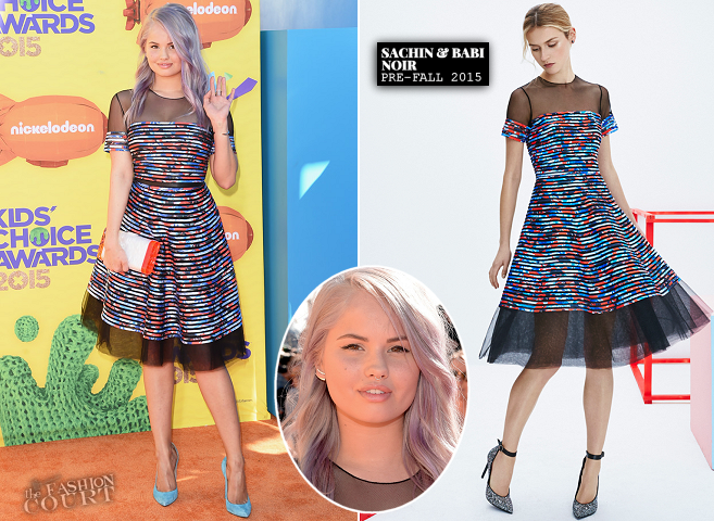 Debby Ryan in Sachin + Babi NOIR | 2015 Kids' Choice Awards