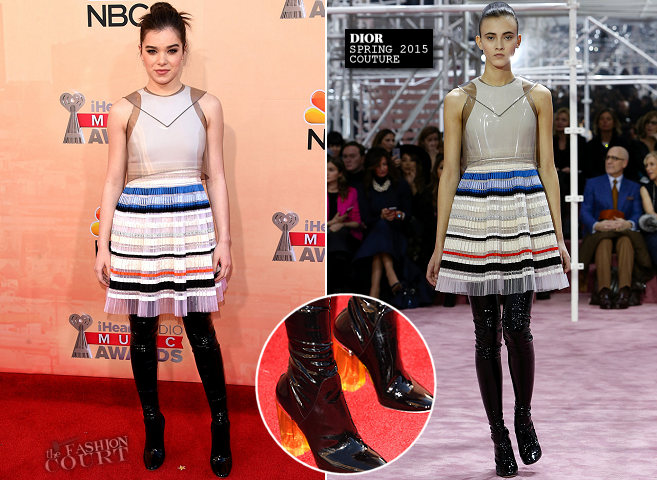 Hailee Steinfeld in Dior Couture | 2015 iHeartRadio Music Awards