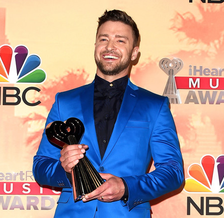 Justin Timberlake in Versace | 2015 iHeartRadio Music Awards