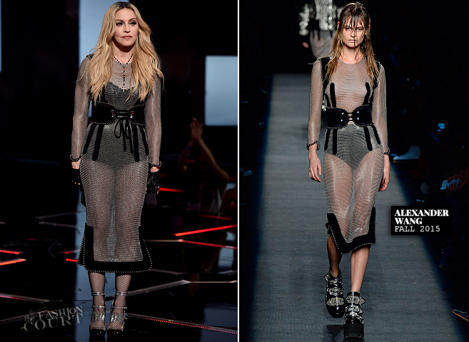 Madonna in Alexander Wang | 2015 iHeartRadio Music Awards