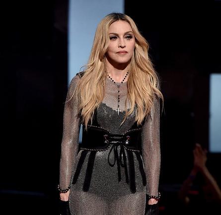 Madonna in Alexander Wang | 2015 iHeartRadio Music Awards