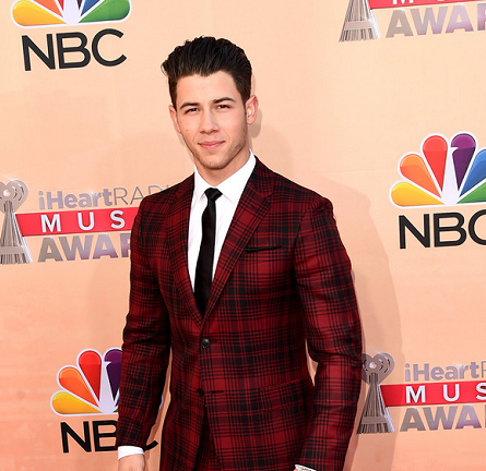 Nick Jonas in Valentino | 2015 iHeartRadio Music Awards