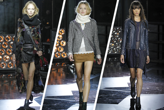 PFW Fall 2015: Zadig & Voltaire Debuts a 'Midnight Vagabond' Collection