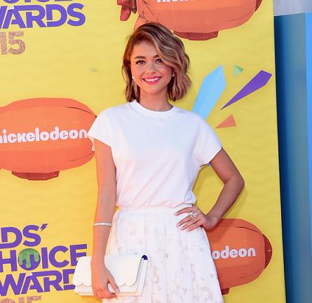 Sarah Hyland in Michael Kors | 2015 Kids' Choice Awards