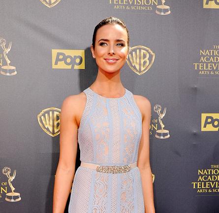 Ashleigh Brewer in BCBG | 2015 Daytime Emmys