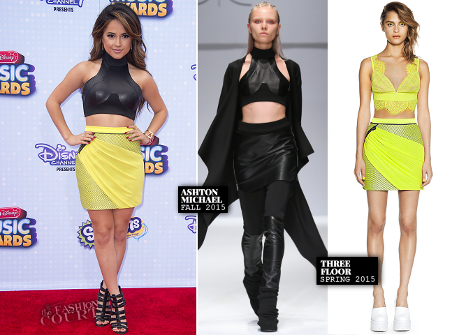 Becky G in Ashton Michael & Three Floor | 2015 Radio Disney Music Awards