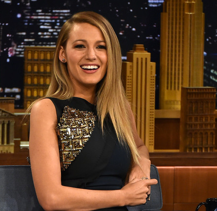 Blake Lively in Antonio Berardi | 'The Tonight Show Starring Jimmy Fallon'