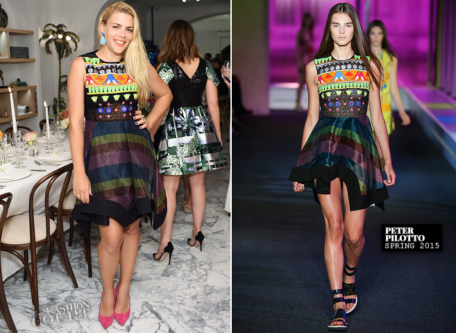Busy Philipps in Peter Pilotto | Irene Neuwirth's Peter Pilotto Dinner