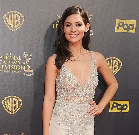 Camila Banus in Paolo Sebastian Couture | 2015 Daytime Emmys