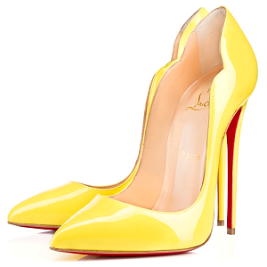 Christian Louboutin 'Hot Chick' 130mm Pumps