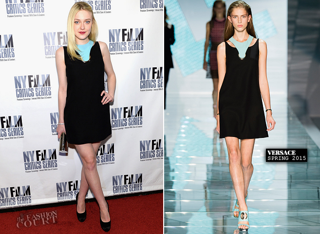 Dakota Fanning in Versace | 'Every Secret Thing' New York Film Critic Series Premiere