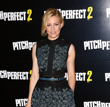 Elizabeth Banks in Elie Saab | 'Pitch Perfect 2' London VIP Screening