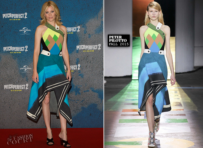 "Elizabeth Banks in Peter Pilotto | ""Pitch Perfect 2"" Berlin Photocall"