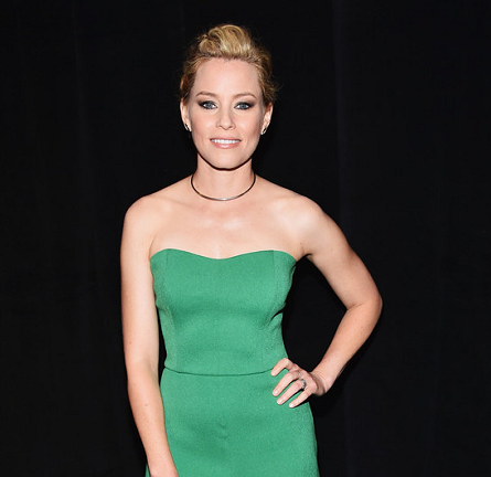 Elizabeth Banks in Saloni |CinemaCon 2015 Opening Night: 'Pitch Perfect 2' Introduction