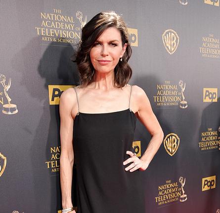 Finola Hughes in Chanel | 2015 Daytime Emmys