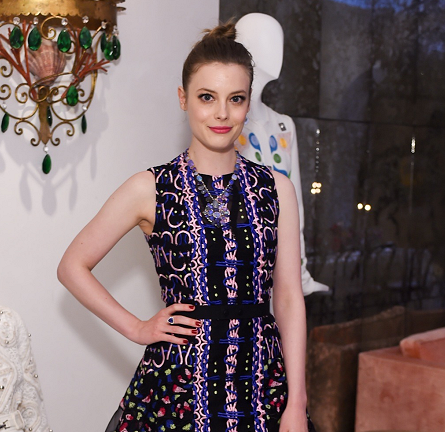 Gillian Jacobs in Peter Pilotto | Irene Neuwirth's Peter Pilotto Dinner