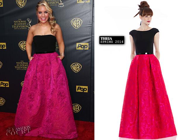 Kristen Alderson in THEIA | 2015 Daytime Emmys