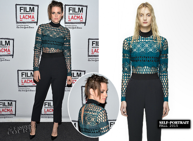 Kristen Stewart in Self Potrait | 'Clouds of Sils Maria' LACMA Screening