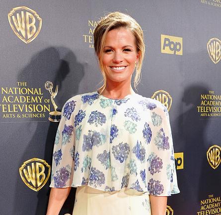 Melissa Claire Egan in BCBG | 2015 Daytime Emmys