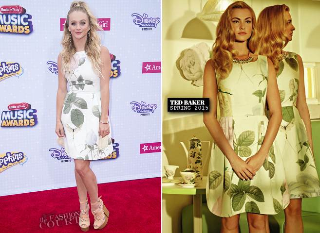 Mollee Gray in Ted Baker | 2015 Radio Disney Music Awards