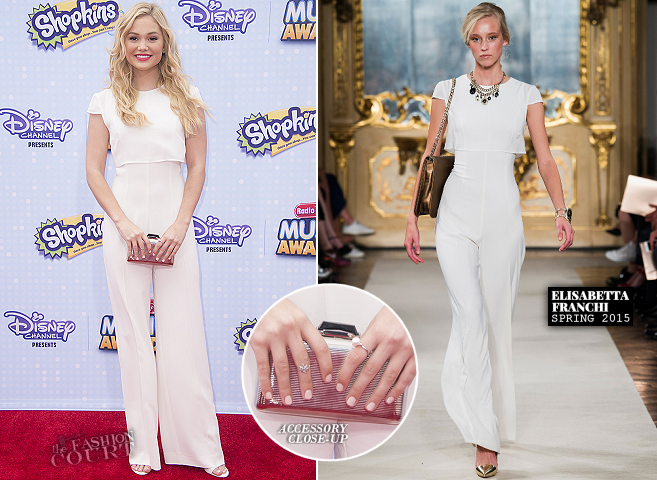 Olivia Holt in Elisabetta Franchi | 2015 Radio Disney Music Awards