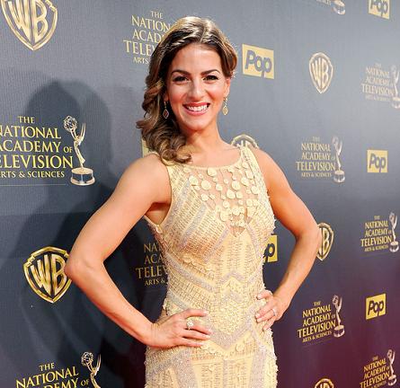 Renée Marino in THEIA | 2015 Daytime Emmys