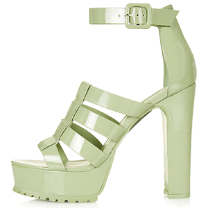 Topshop Ledge Track Sole Platform Sandals