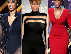 Tyra Banks in Bryan Hearns | 2015 Daytime Emmys