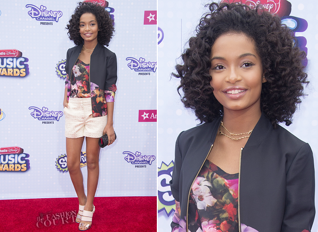 Yara Shahidi in Ted Baker | 2015 Radio Disney Music Awards