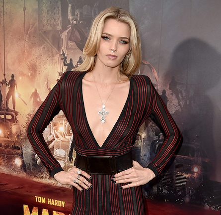 Abbey Lee in Balmain | 'Mad Max: Fury Road' Hollywood Premiere
